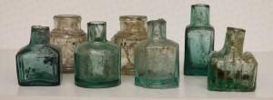 Glass Inkwells