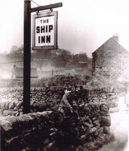 Ship Inn sign